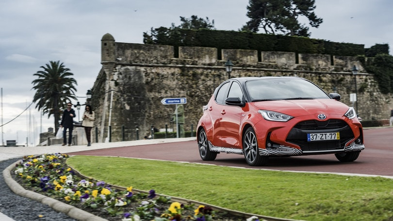VIDEO Toyota Yaris hybrid, la prova
