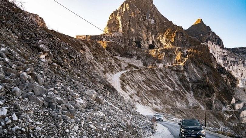 Nuovo Renault Koleos: la prova di marmo a Carrara