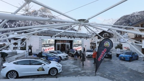 Car of the Year 2020, test drive a Courmayeur FOTO