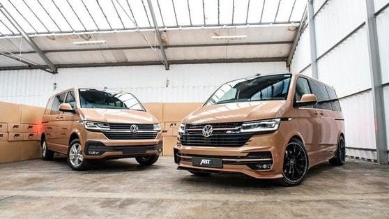 Volkswagen Transporter T6.1, look aggressivo con l'Aero Kit di ABT