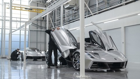 Lotus Evija, nuovo impianto di produzione FOTO