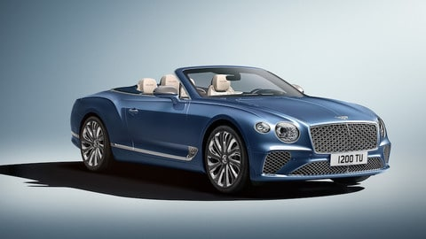 Bentley Continental GT Convertible Mulliner: foto