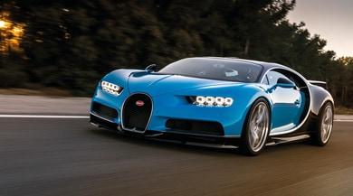 Bugatti Chiron, prodotti i primi 250 esemplari