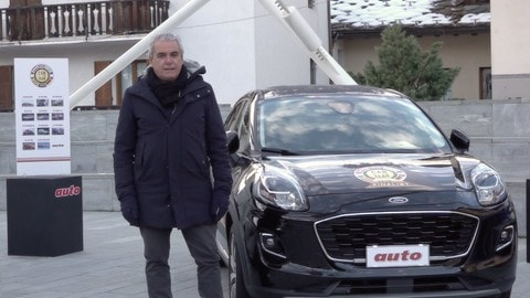 Car of the year 2020: Ford Puma a Courmayeur VIDEO
