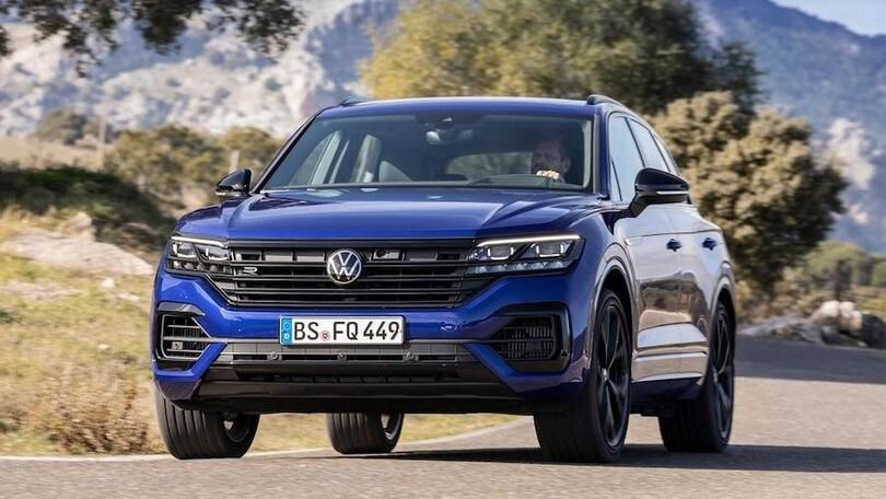 Volkswagen Touareg R, ibrido sportivo a Ginevra
