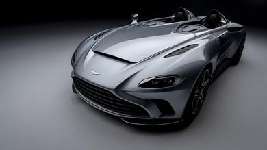 Aston Martin V12 speedster, inno alla barchetta