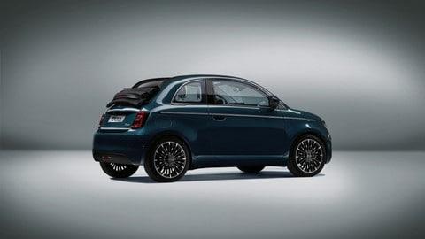 Fiat 500 elettrica Celestial Blu