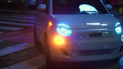 Fiat 500 elettrica Kartell: il video