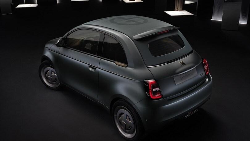 Nuova Fiat 500 elettrica firmata Armani VIDEO