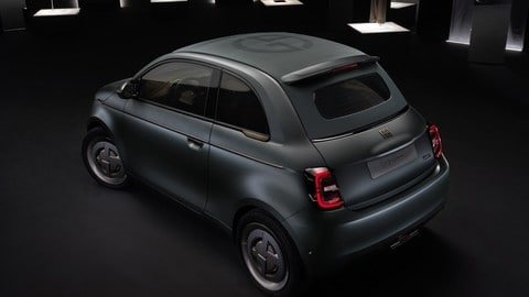 Fiat 500 elettrica Armani FOTO