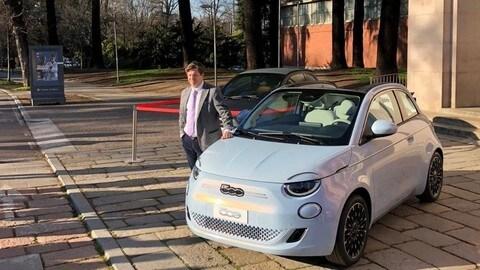 Fiat 500 elettrica: la conferenza stampa a Milano FOTO