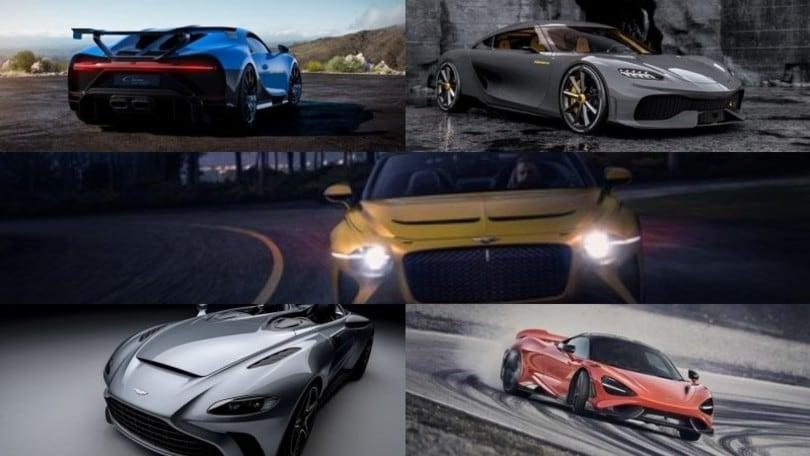 Salone di Ginevra digitale 2020: la Top 5 delle supercar