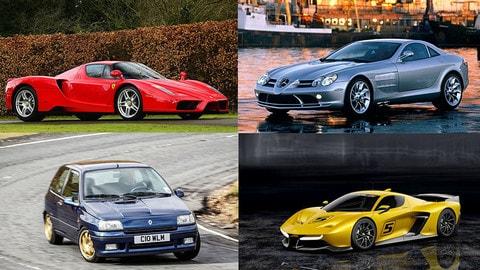 Auto con nomi della Formula 1: la Top Ten delle più famose
