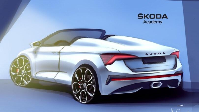 Skoda Scala speedster, concept dall'Academy