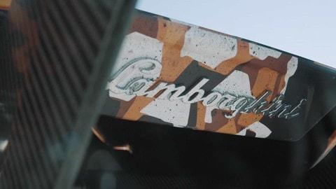 Lamborghini Squadra Corse V12 in pista a Modena FOTO