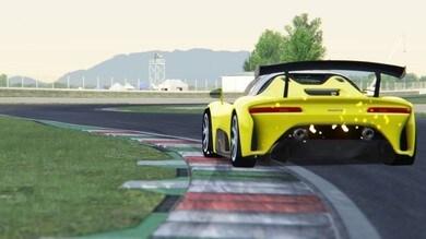 Dallara Stradale sfreccia nel nuovo campionato virtuale