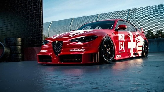 Alfa Romeo Giulia DTM, sogno di primavera