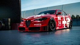 Alfa Romeo Giulia DTM Render FOTO