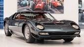 Lamborghini Miura SV con soli 5759 km all'asta
