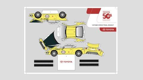 Toyota, sei modellini GT86 da costruire FOTO