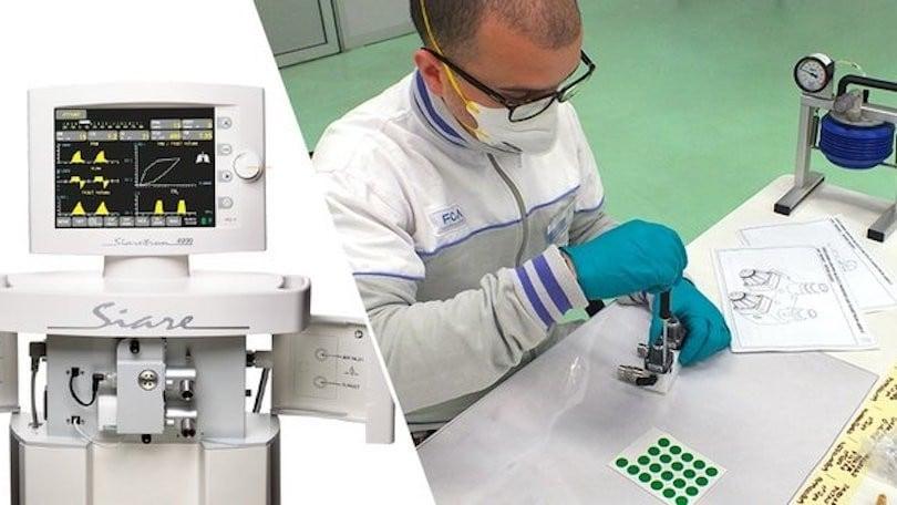 Coronavirus, FCA con Siare: ventilatori pronti in metà tempo