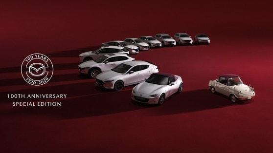 Gamma Mazda: edizioni speciali 100th Anniversary