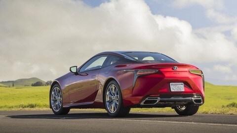 Lexus LC 2021: foto