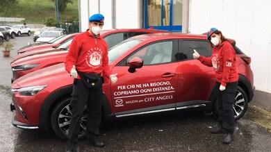 Mazda in aiuto di City Angels e della Protezione Civile