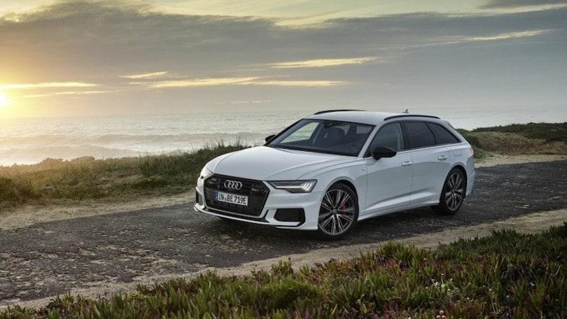Audi A6 Avant e quattro, l'anello ibrido plug-in mancante ora c'è