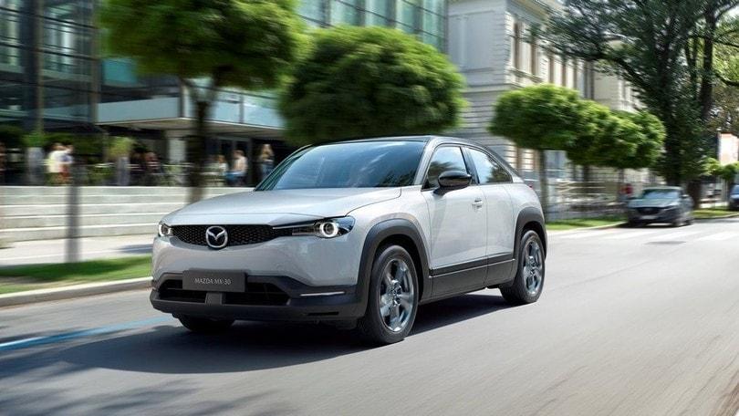 Mazda MX-30: al via la produzione del crossover elettrico