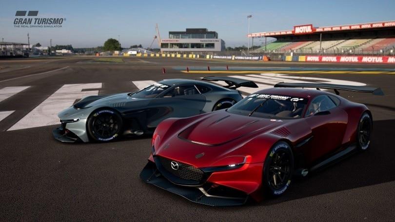 Mazda RX-Vision GT3 Concept, supercar da videogame