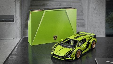 Lamborghini Sian FKP 37 Lego Technic VIDEO