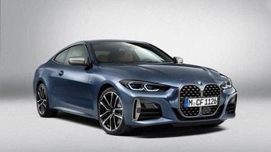 Nuova BMW Serie 4 Coupé, doppio rene gigante e sportivo