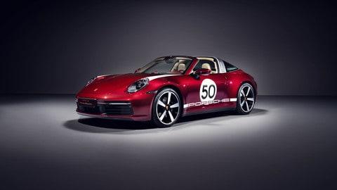 Porsche 911 Targa 4S Heritage Design Edition  FOTO