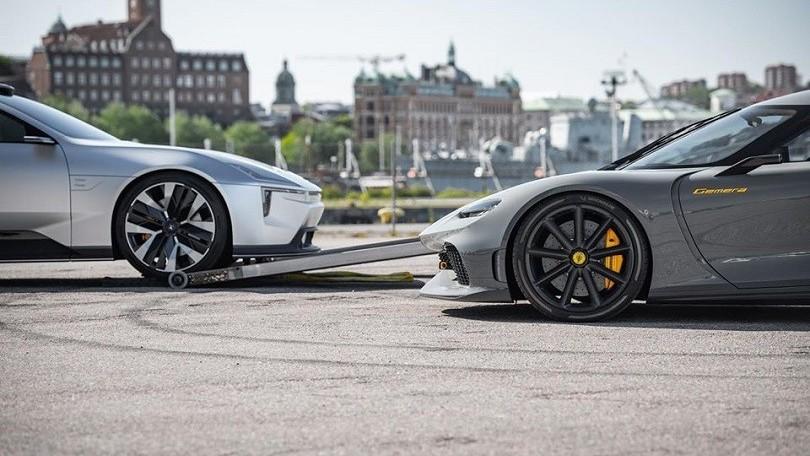 Koenigsegg e Polestar, i social anticipano la collaborazione