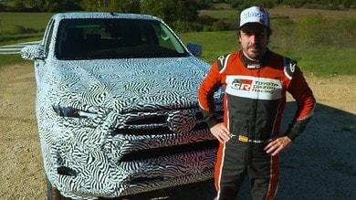 Nuovo Toyota Hilux, test con Fernando Alonso VIDEO