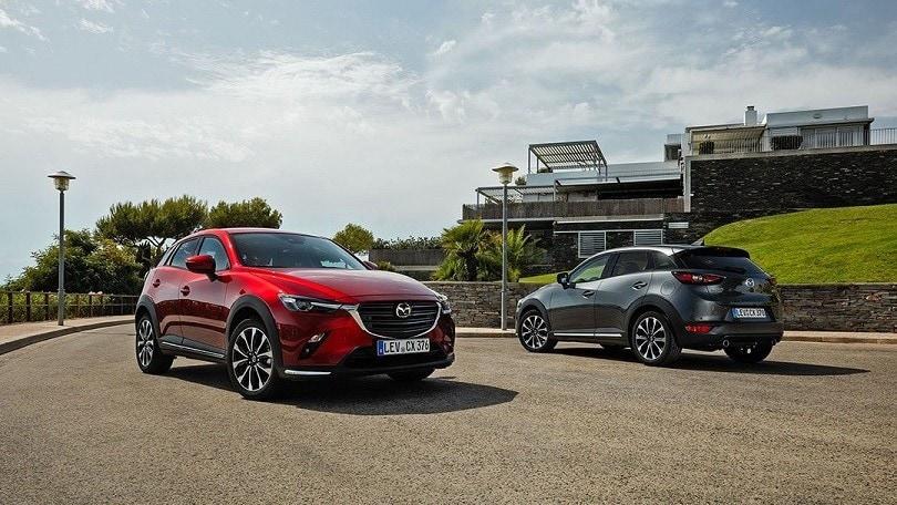 Mazda, nuovo CX-3 cambia sottopelle per i consumi