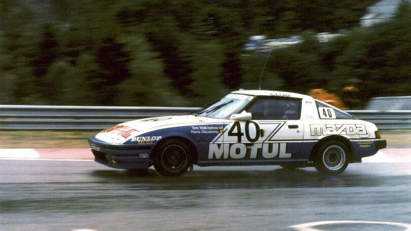 Mazda RX-7 e la 24 Ore di Spa del 1981