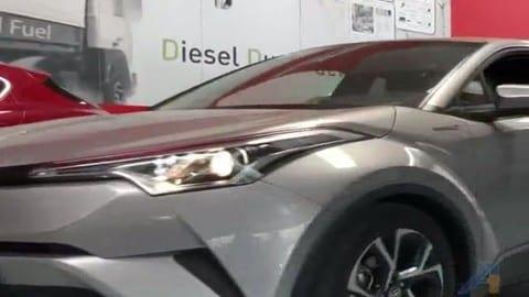 Toyota C-HR Hybrid a metano VIDEO