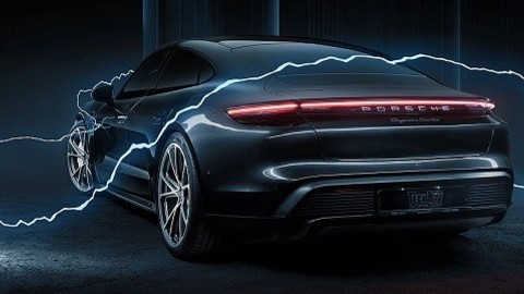 Porsche Taycan by Techart: LE FOTO