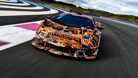 Lamborghini SCV12, hypercar da pista FOTO
