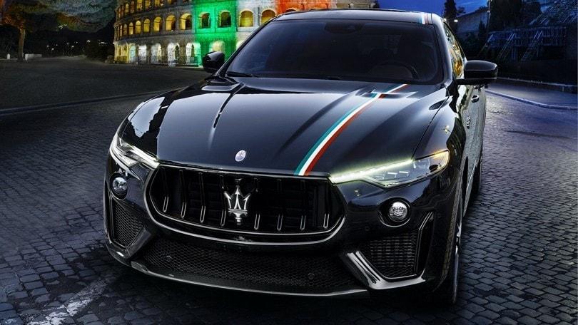 Maserati, livrea tricolore dedicata alla ripartenza dell'Italia FOTO