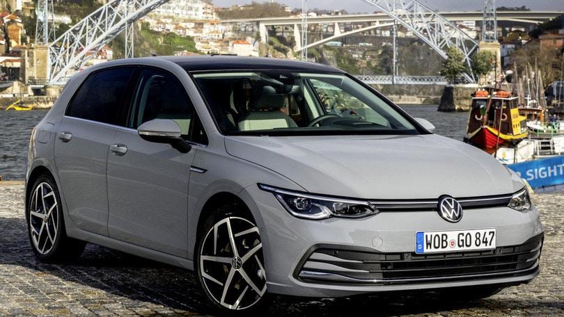 Nuova Volkswagen Golf, serie 8 alla prova