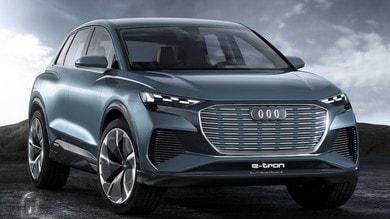 Audi Q4 e-tron, muletti su strada e debutto nel 2020