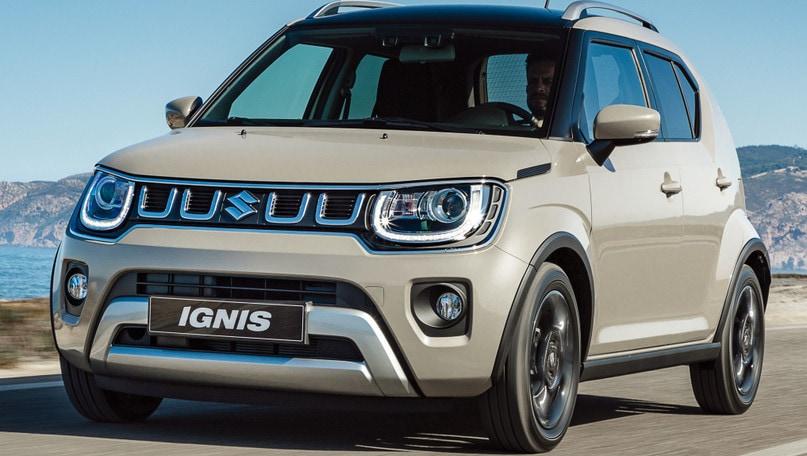 Nuova Suzuki Ignis ibrida, prova di ripartenza