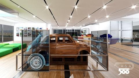Virtual Casa 500 FOTO