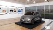 Fiat 500 compie 63 anni e si mette in mostra con Virtual Casa 500