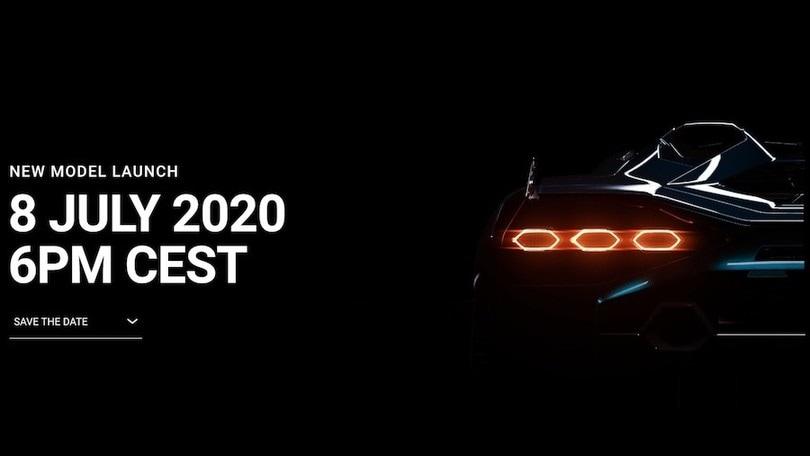 Lamborghini, primo teaser del nuovo modello in arrivo