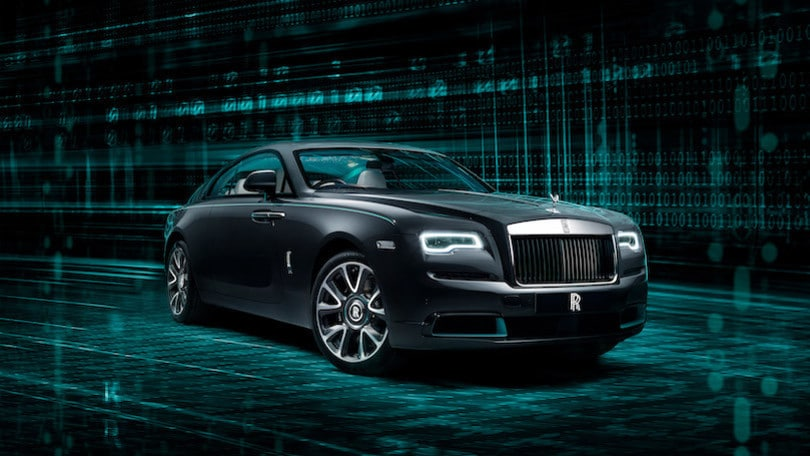 Rolls Royce Wraith Kryptos Collection, lusso da decodificare
