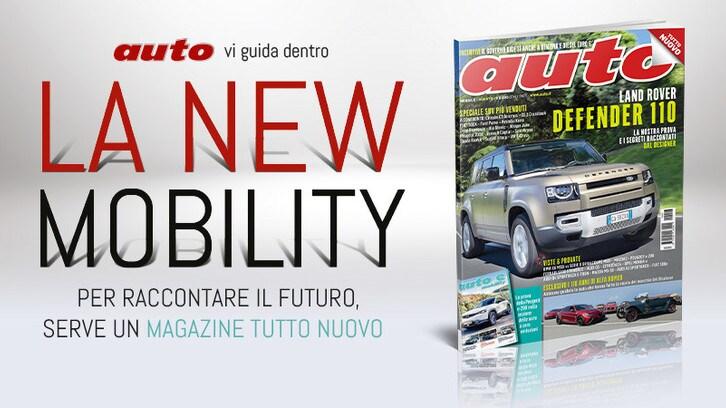 Il nuovo numero di Auto è in edicola: Defender e Alfa Romeo per una festa doppia